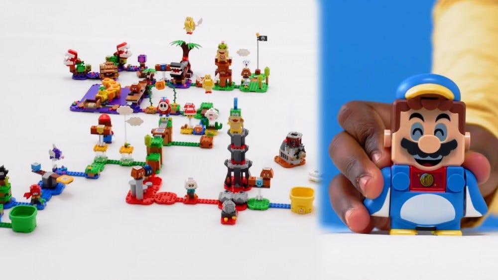 LEGO Super Mario penguin costume
