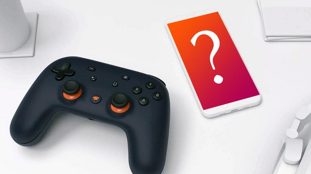 Stadia game controller