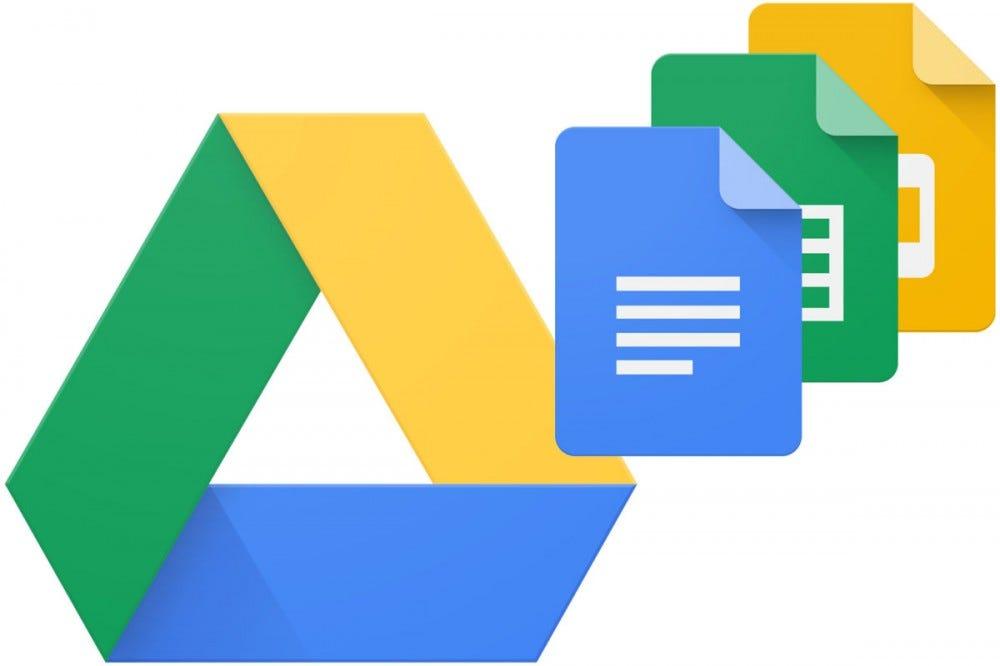 Google Drive, Docs and Sheets