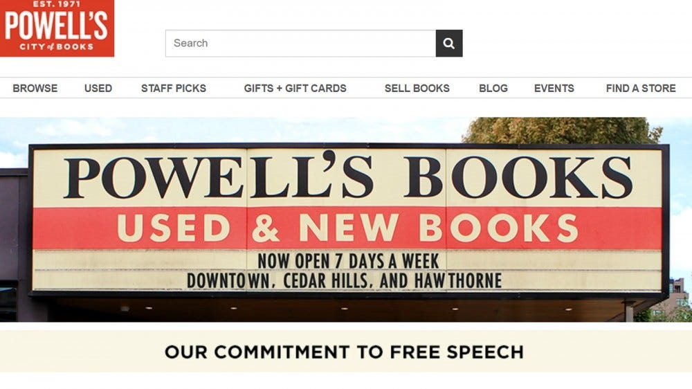 Powell's Books, the world's biggest indie bookstore