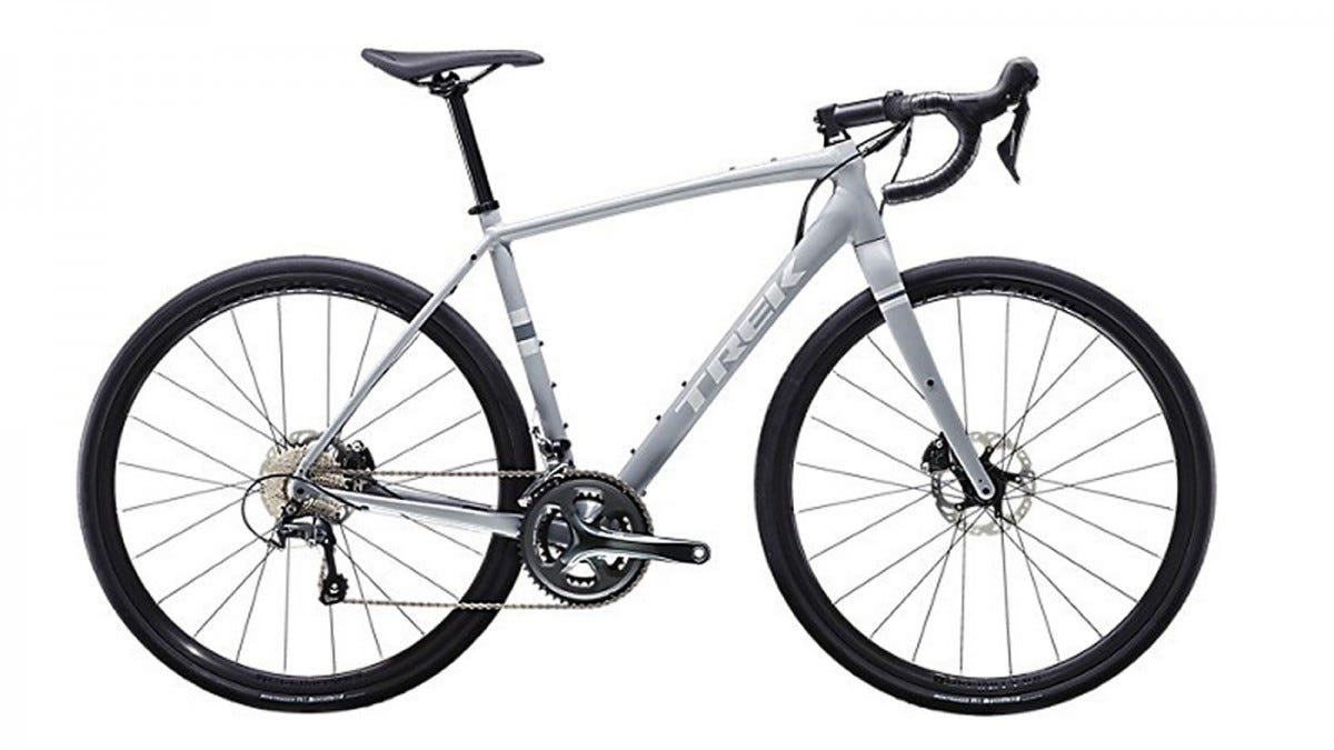 The Trek Checkpoint AL4 road bicycle.