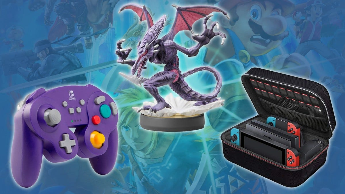 The Best Switch Accessories For Smash Bros  Addicts – Review Geek