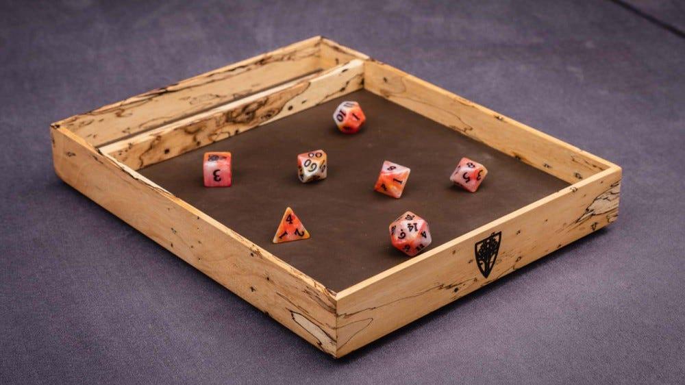 Поднос для кубиков Змеиного леса