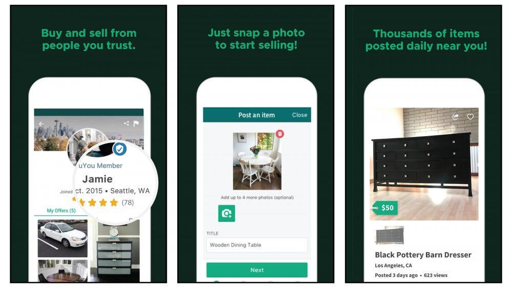 OfferUp buy and sell your stuff locally and become an online seller