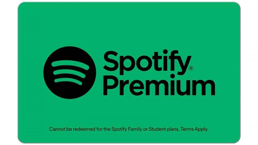 Spotify $30 digital gift card