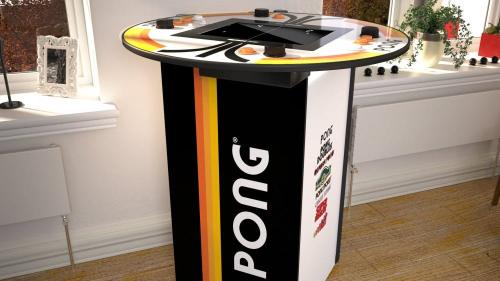 A headroom 'Pong' Table.