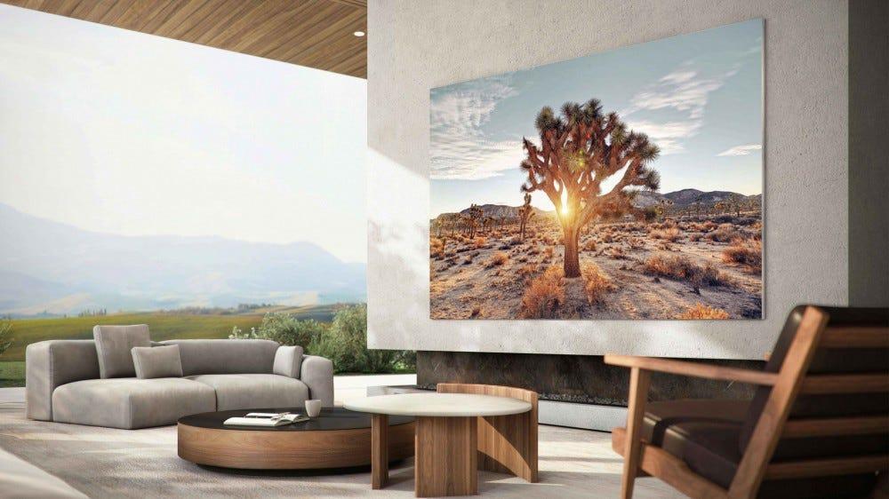Samsung 110 hüvelykes MicroLED TV