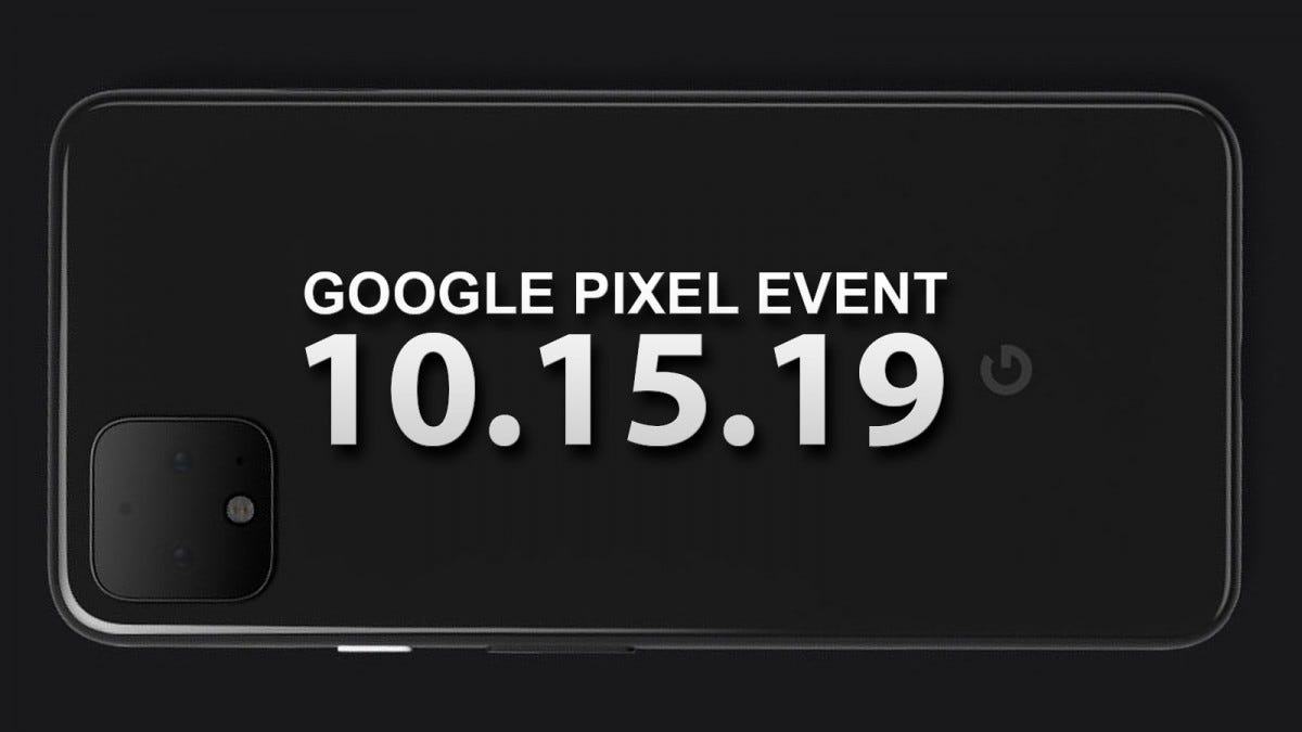 The leaked Pixel 4, from Google's tweet.