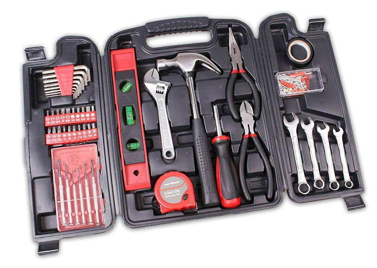 cartman, tool set, tools, all in one,