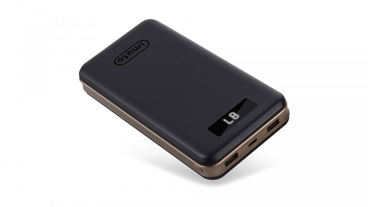 The imuto portable power bank.