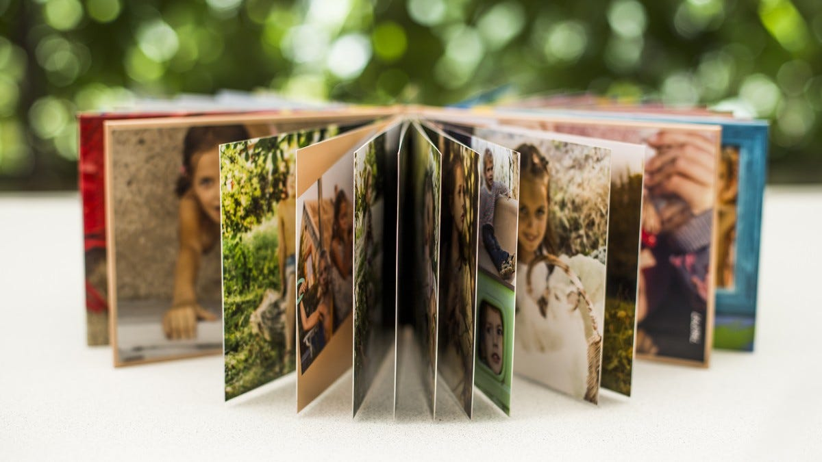 A family photo book.