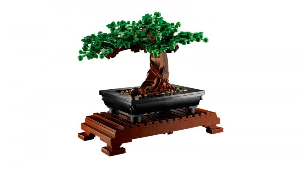 LEGO Creator Expert Bonsai fa készlet