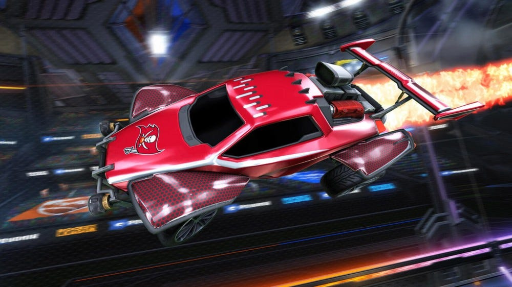 Rocket League Buccaneers bőr