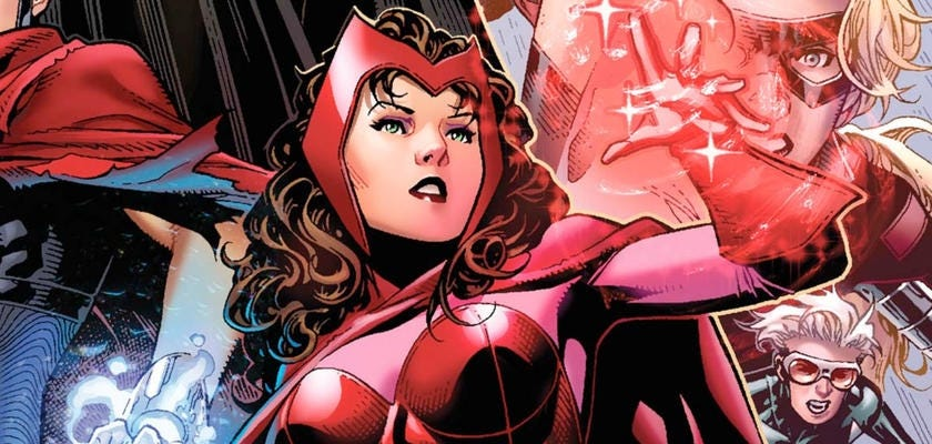 Scarlet Witch illustrations