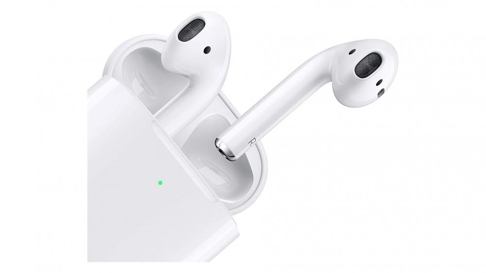 Apple Airpods and Wireless Charging Case Amazon Sale