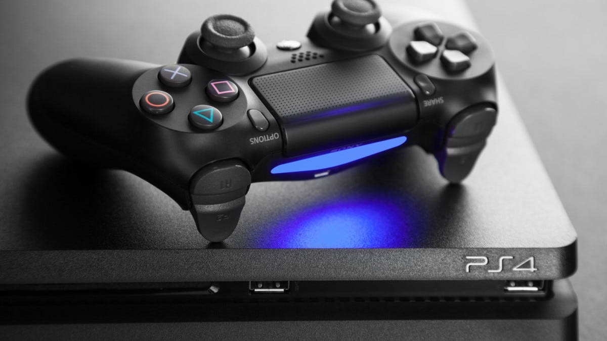The PlayStation 4 and DualShock 4 controller