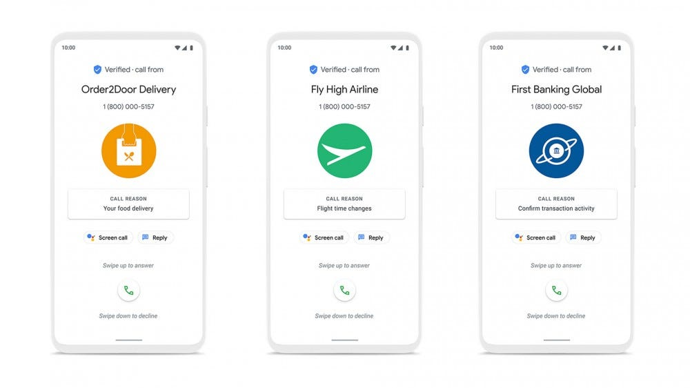 Google Safer Phone Call on Android Screenshots