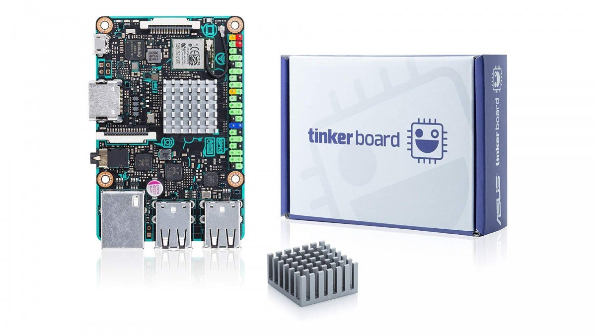 The ASUS Tinker Board.