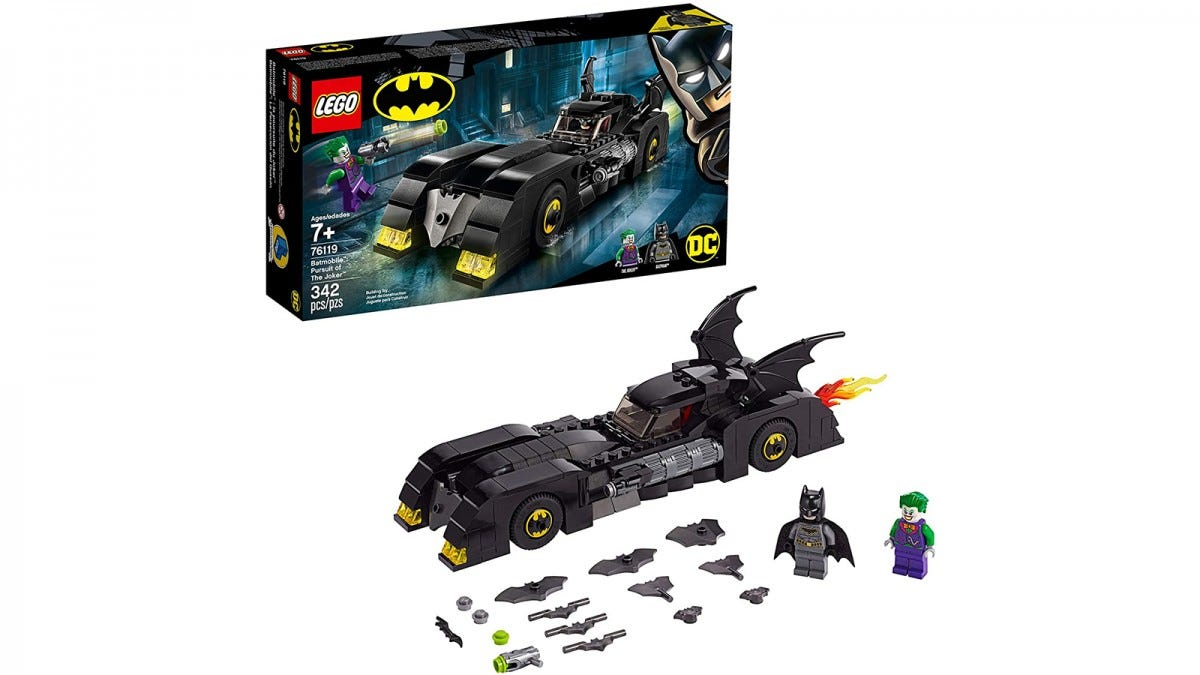 LEGO DC Superheroes Batmobile: Pursuit of the Joker