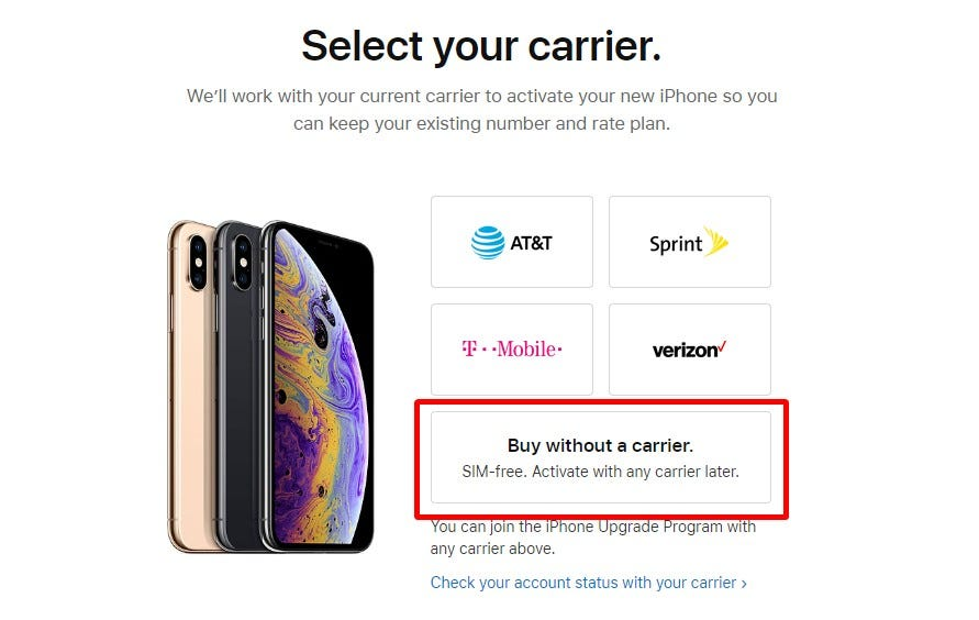 How to Order an Unlocked iPhone XR – Review Geek