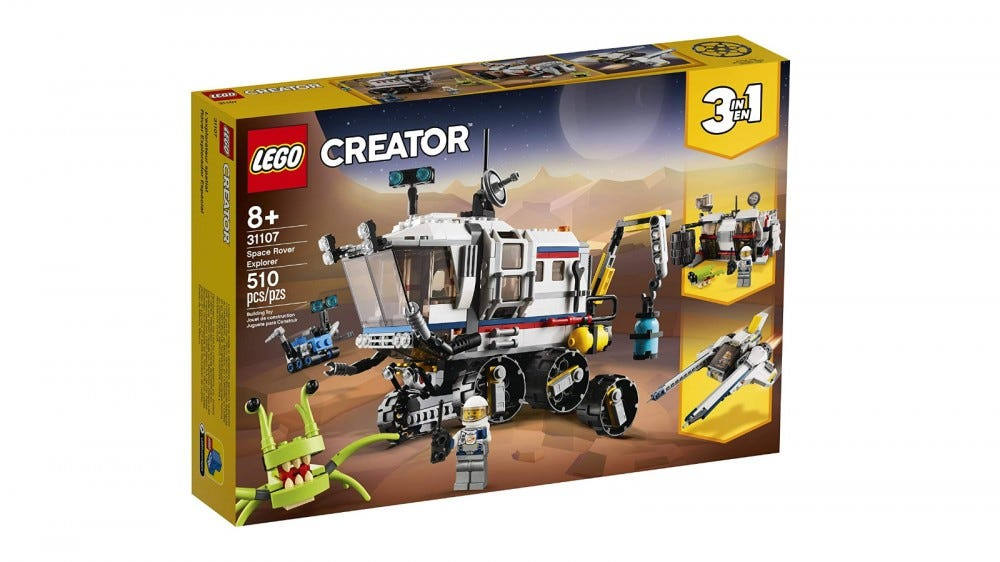 LEGO Creator 3in1 Space Rover Kit