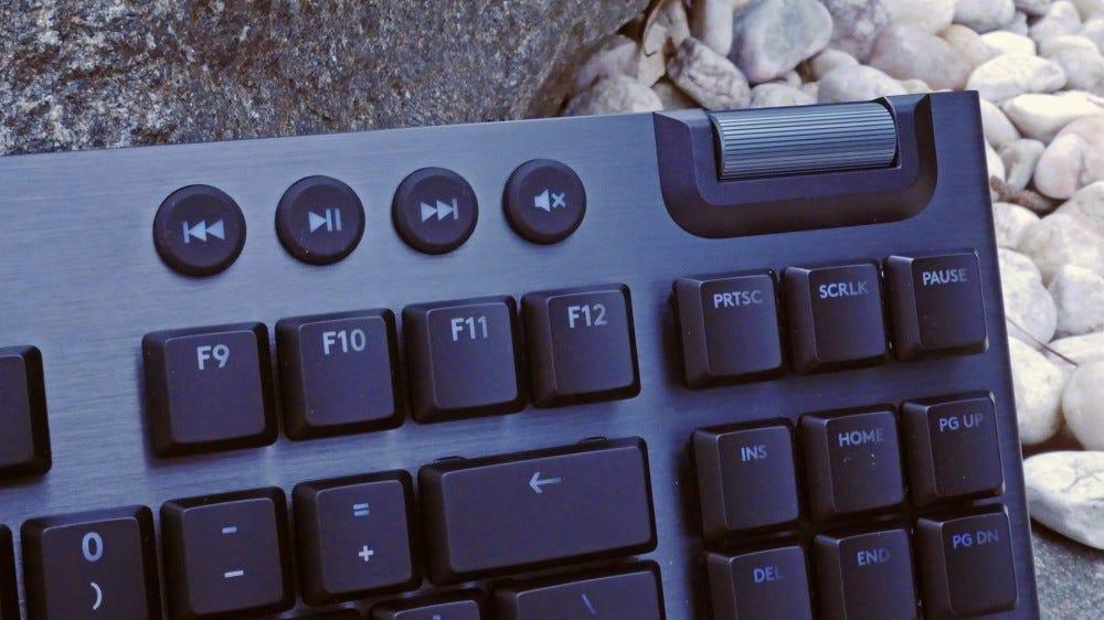 Meida controls on G915