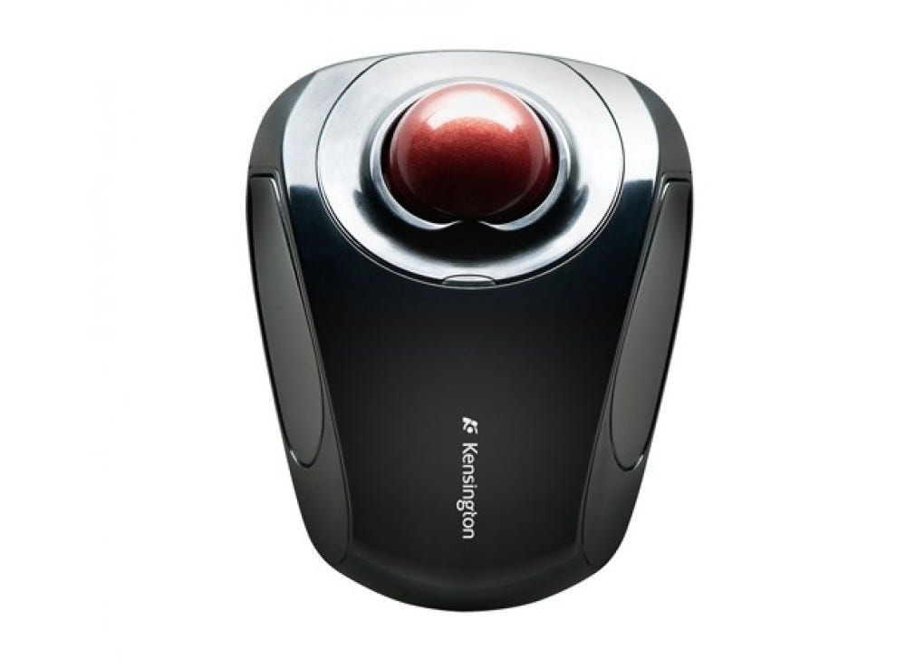 Kensington, orbit, trackball, small trackball, wireless trackball,