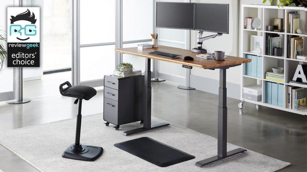 Vari desk promo image