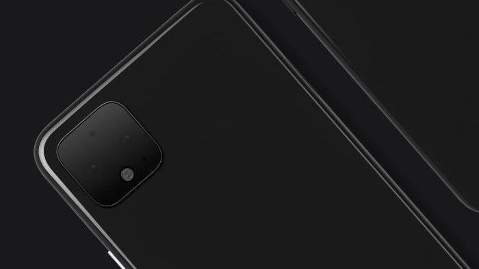 The Pixel 4's camera array