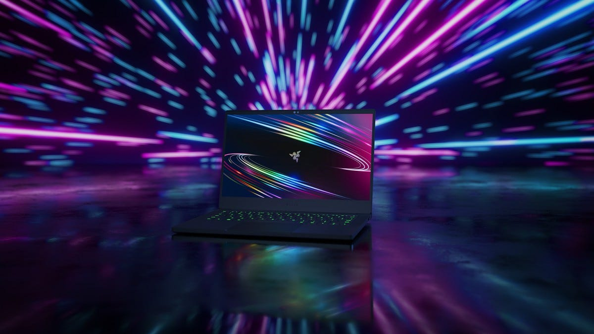 A photo of the new Razer Blade Stealth 13.