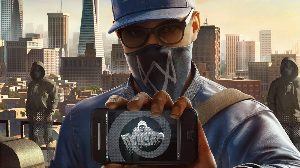 Watch Dogs 2 promotional image