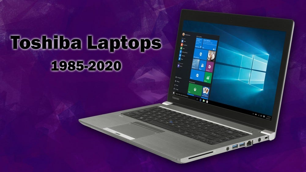 Toshiba laptop with death year