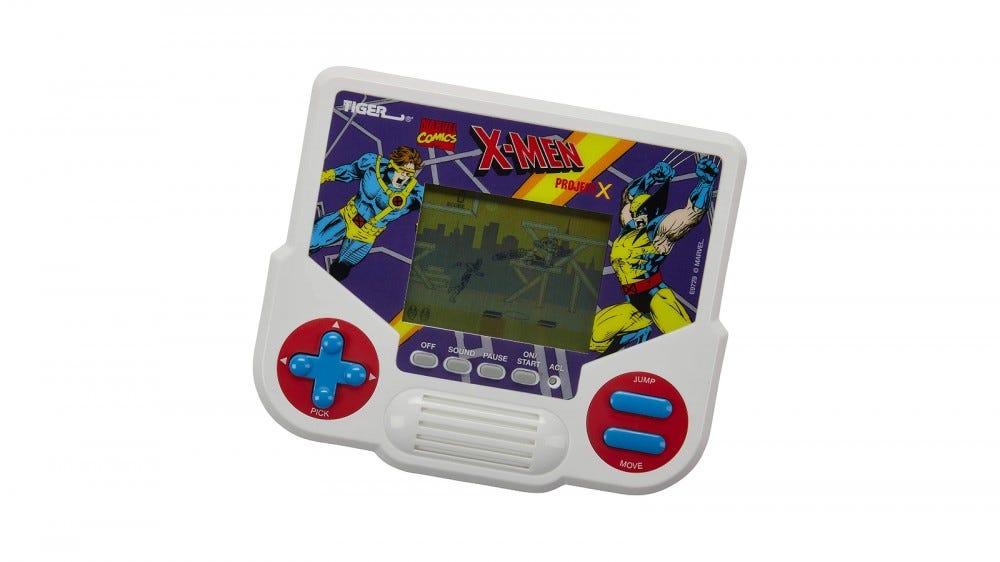 Ordinateur de poche X-Men Project X Tiger Electronics