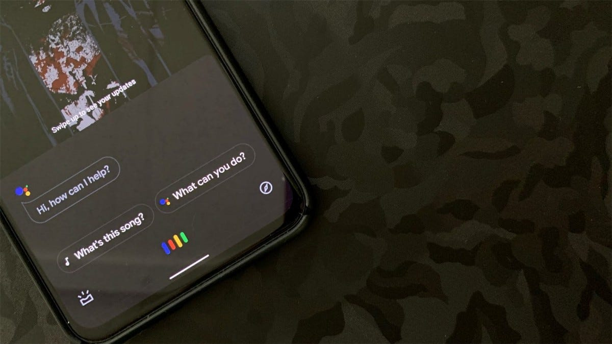 Google Assistant on the Pixel 4 XL