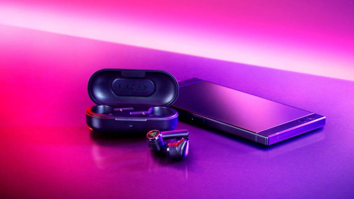 Razer Hammerhead Truly Wireless earbuds