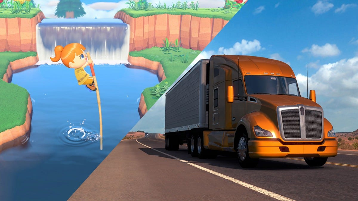 Animal Cross, American Truck Simulator