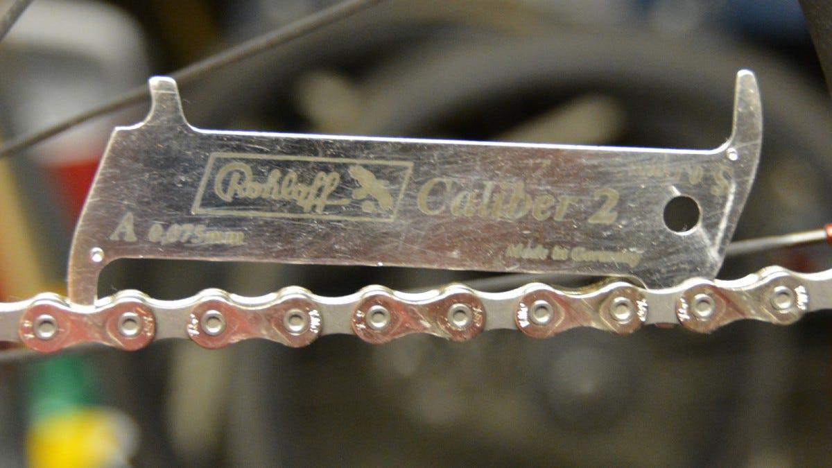 Rohloff chain checker