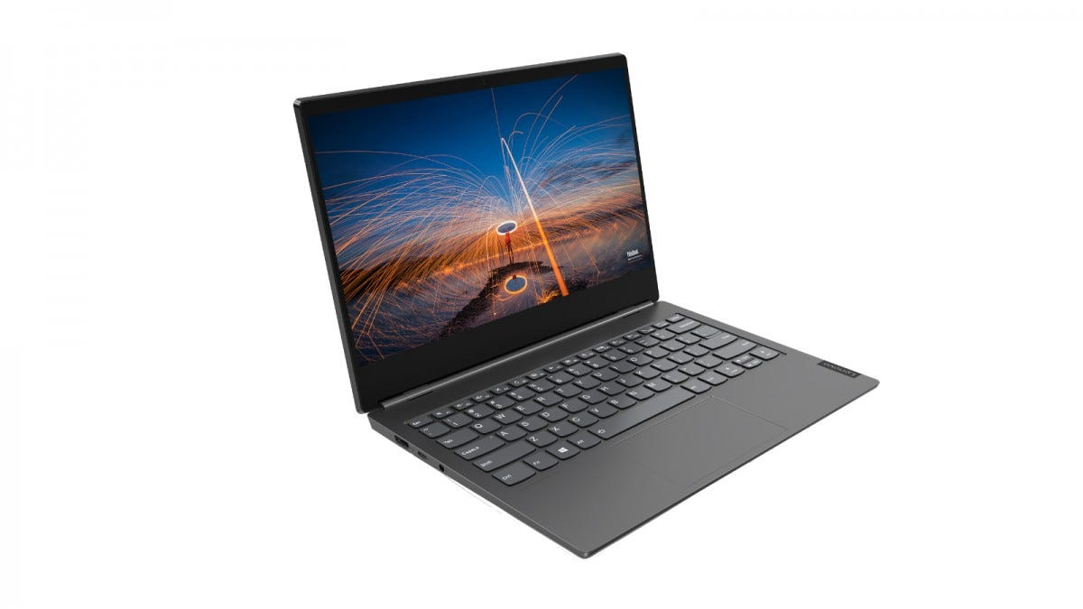 Lenovo ThinkBook Plus from the side