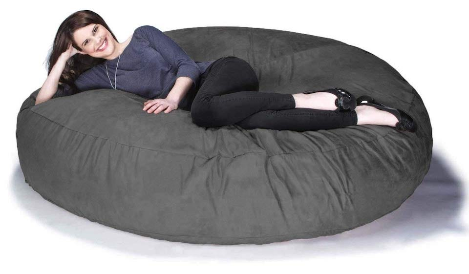 Awe Inspiring The Best Large Bean Bag Chairs For Your Rec Room Dorm Room Dailytribune Chair Design For Home Dailytribuneorg