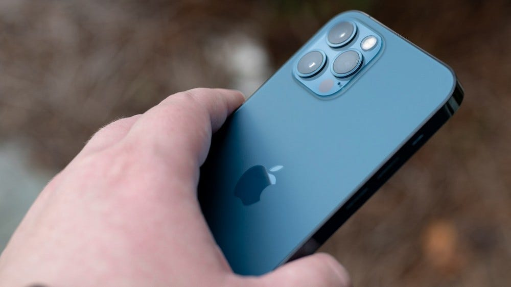 The iPhone 12 Pro's cameras