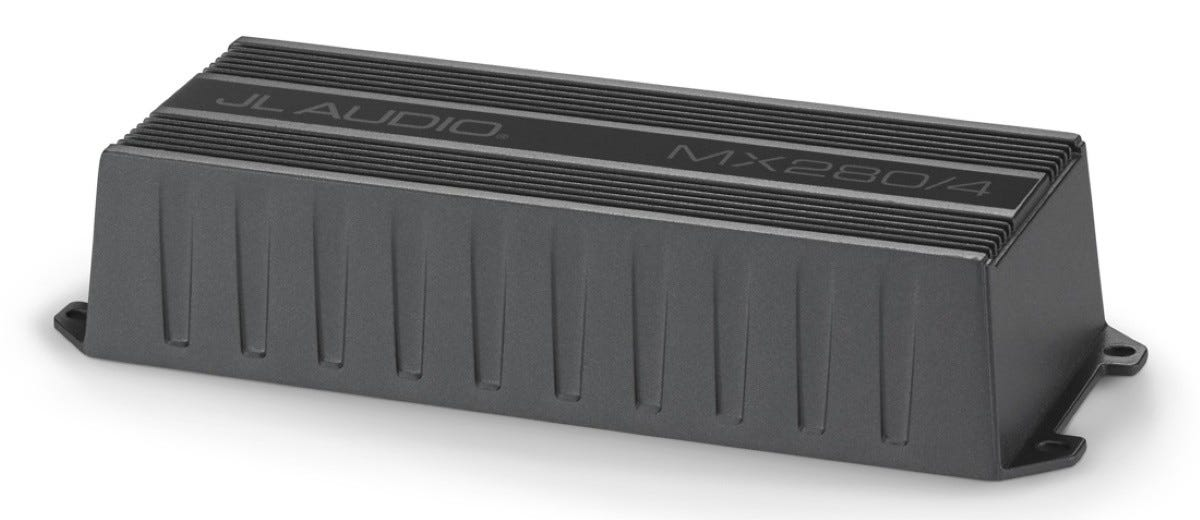 The JL Audio MX280/4 Mini-Amplifier.