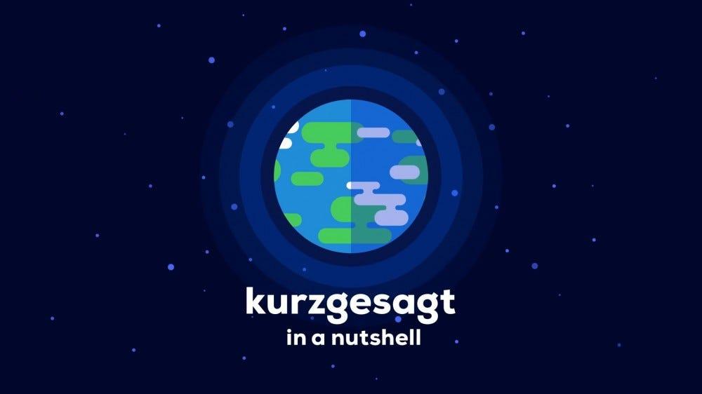 Kurzgesagt - Egy dióhéj animációs YouTube-csatornán