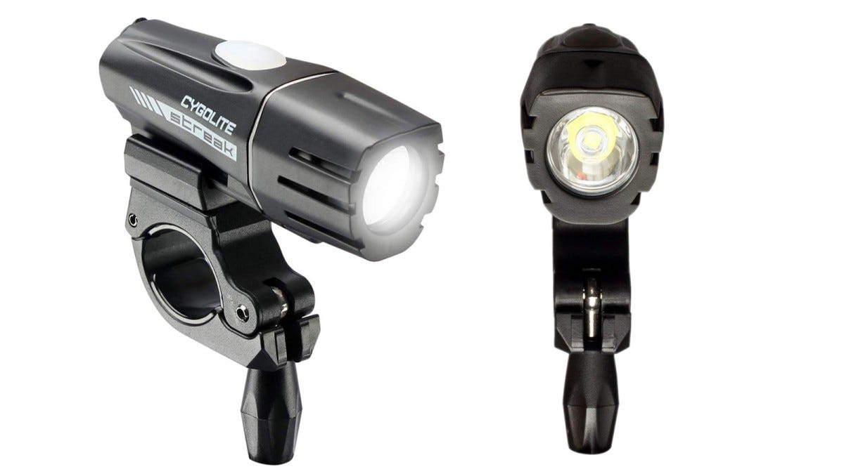 Two Cygolite Streak 450 Bike Lights.