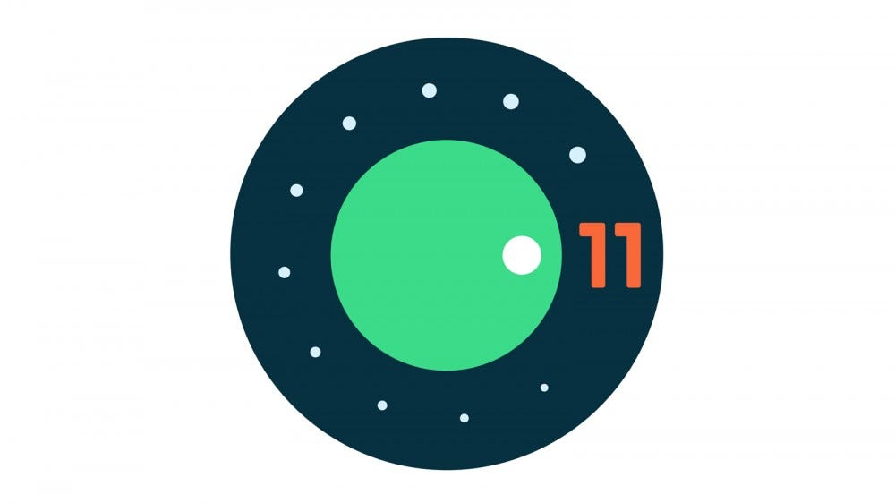 The Android 11 dialer logo
