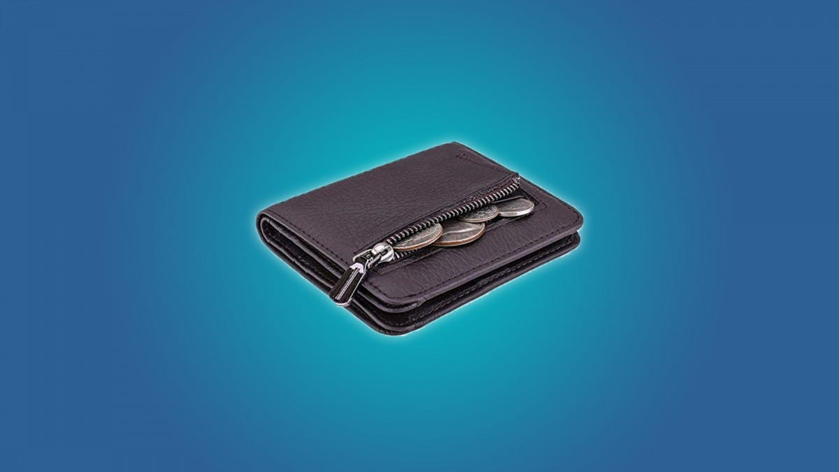 Itslife Compact RFID-Blocking Wallet