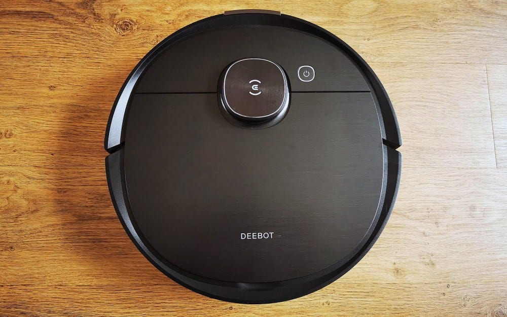 ecovacs deebot ozmo T8 AIVI from above