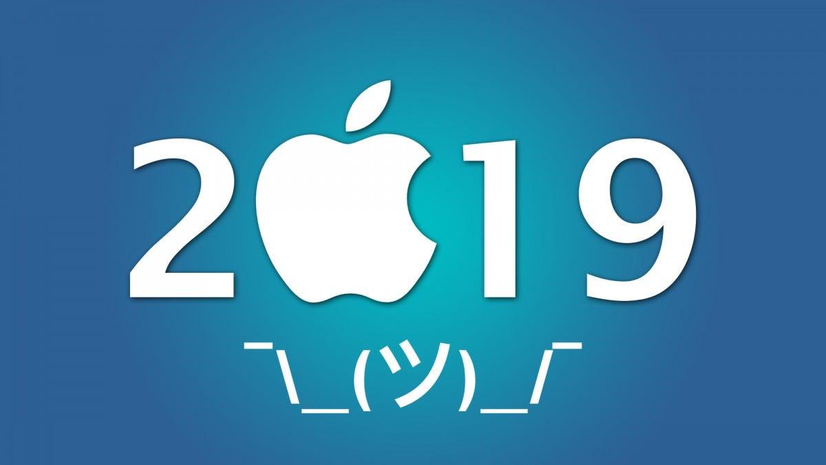 Apple 2019 rumors