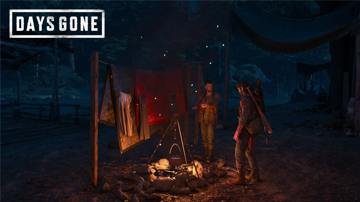 Talking with Copeland in Days Gone