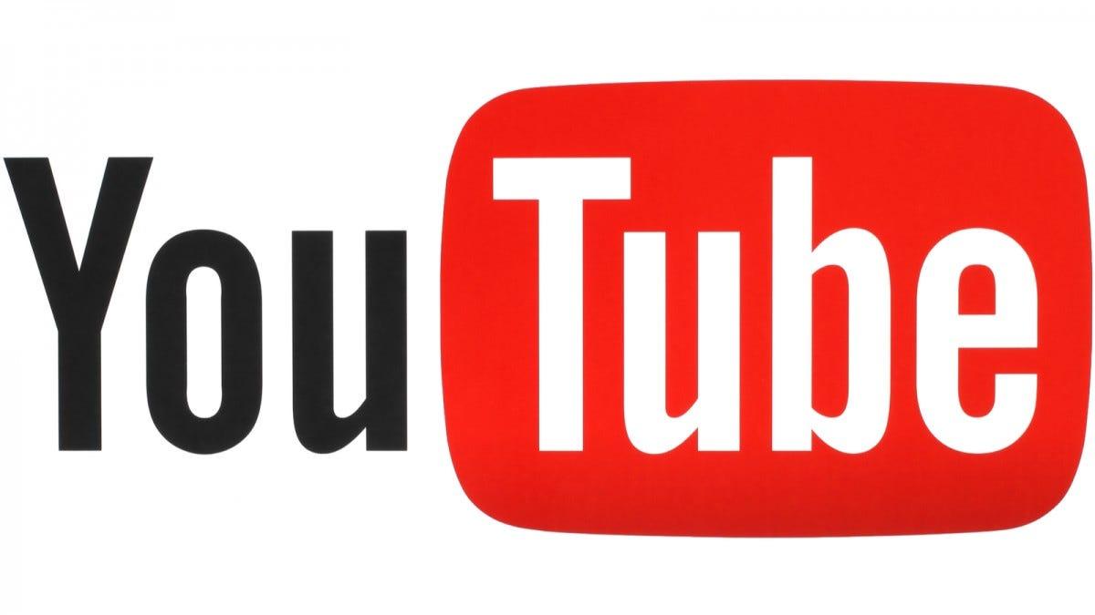 The old school YouTube logo