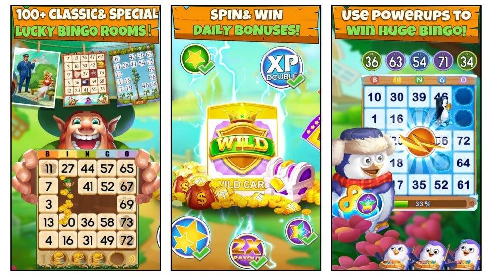 Bingo Party mobile bingo games